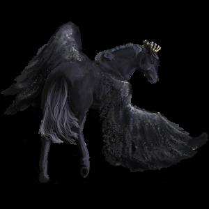 Pony-pegasus Shetlander Wildkleur