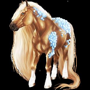 Draft horse Shire Dark Bay