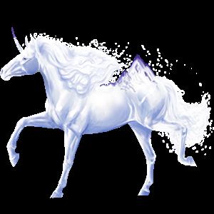 Riding unicorn Morgan Chestnut
