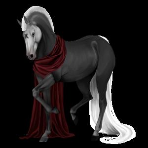 Pegaz wierzchowy Koń luzytański Ciemnogniada