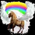 Pegasus pony Welsh Liver chestnut