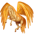 Pegasus pony Connemara Dark Bay