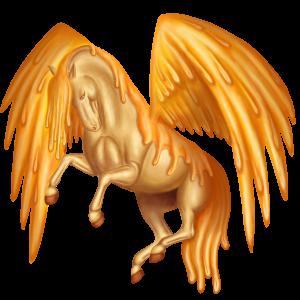 Pegasus pony Highland Pony Dun
