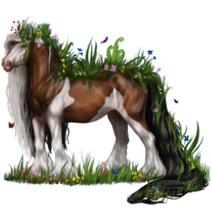 Draft horse Drum Horse Mouse Gray
