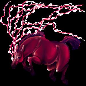 Riding unicorn Hanoverian Flaxen Chestnut