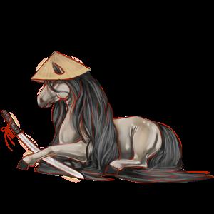 Pony Newfoundland Pony Strawberry roan