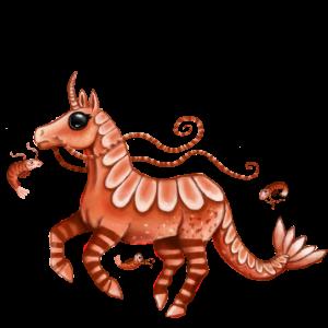 Unicorn pony Shetland Chestnut