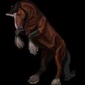 Draft unicorn Drum Horse Bay