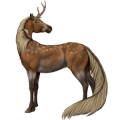 Riding unicorn Thoroughbred Mouse Gray