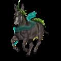 Einhorn-Esel Esel Schimmel