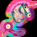 Reitpferd 2-beiniges Pferd