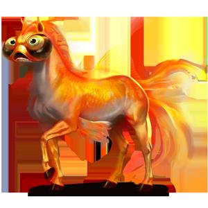 Einhorn-Reitpferd Araber Rappe