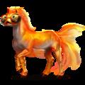 Draught unicorn Shire Black