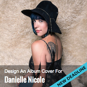 Create an Album Cover for Danielle Nicole Wolf Den