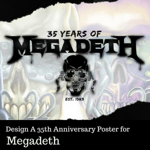 Design a Poster for Megadeth