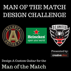 Design A Custom Guitar For The Man of the Match