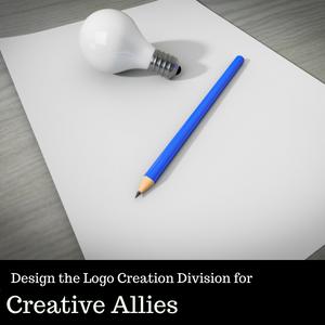Design the Logo Creation Division Creative Allies
