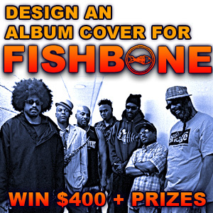 """Design The Cover Of Fishbone's New Ep """"Crazy Glue"""""""