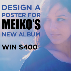 Design a Poster for Meiko's New Album The Bright Side