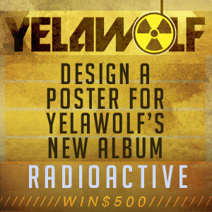 Design a Poster for Yelawolf's New Album, Radioactive