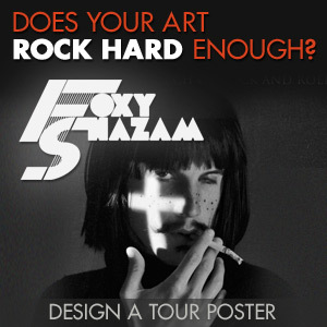 Design a Poster for Foxy Shazam's Headlining Tour