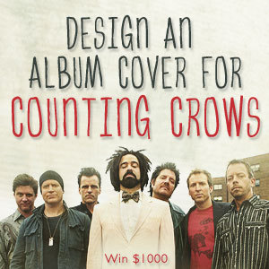 Design an Album Cover for Counting Crows