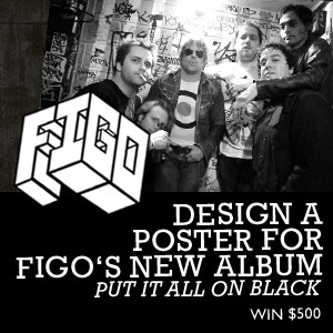 Design a Poster for FIGO's New Album 'Put It All On Black'