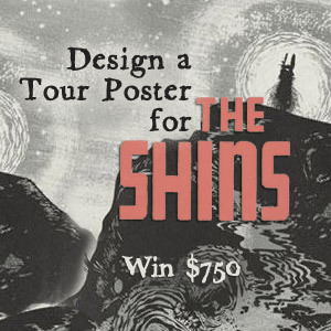 Design a Tour Poster for The Shins