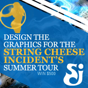 Design the Graphics for String Cheese Incident's Summer Tour