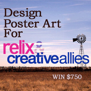 Design Poster Art for the Relix and Creative Allies Party at SXSW
