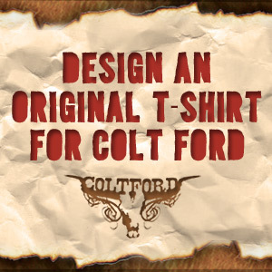 Celebrate Colt Ford, A True Music Outlaw, in a T-Shirt Design
