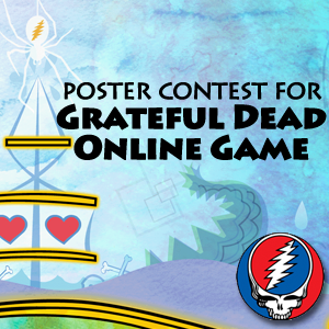 Design a Poster for the Grateful Dead Game - The Epic Tour