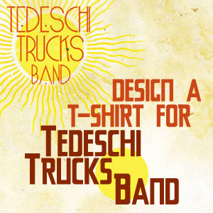 Design a T-Shirt for Tedeschi Trucks Band