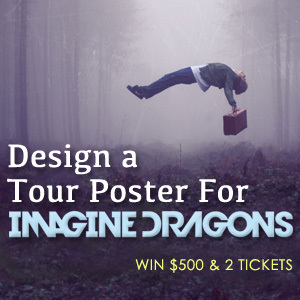 Design a Tour Poster for Imagine Dragons