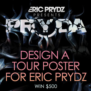 Design a Tour Poster for Eric Prydz