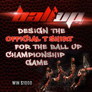 Design a Championship T-Shirt for Ball Up