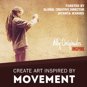 "Art Inspired By ""Movement"" – Guest Curated by Global Creative Director Jayanta Jenkins"