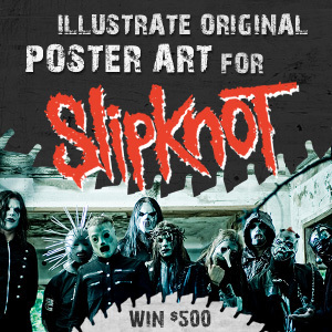 Design a Poster for Slipknot