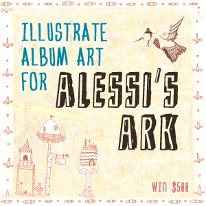 Design an Album Cover for Alessi's Ark