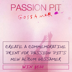Design a Poster for Passion Pit
