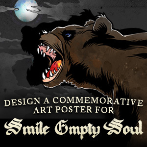 Design a Poster for Smile Empty Soul