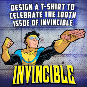 Design a T-Shirt for Invincible
