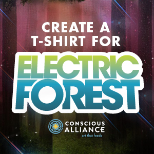 Design a T-Shirt for Electric Forest 2013