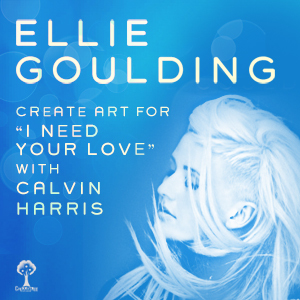 Design for Ellie Goulding and Calvin Harris