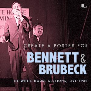 Create Commemorative Art for Tony Bennett and Dave Brubeck