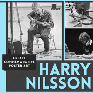 Create Commemorative Art for Harry Nilsson