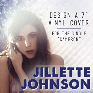 Design Vinyl Art for Jillette Johnson