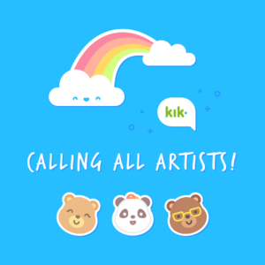Design a Sticker Pack for Kik