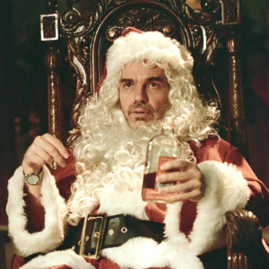 Design a graphic for Bad Santa