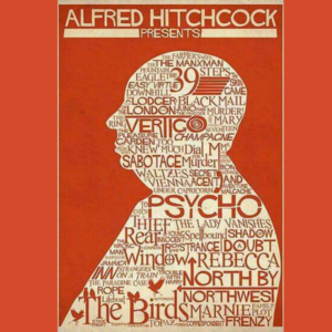 Design Ally Artwork Inspired by Hitchcock